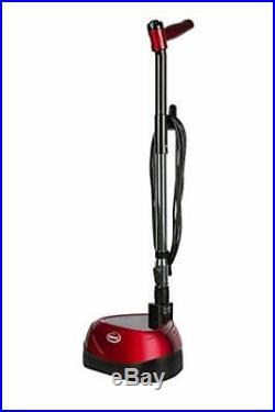 Floor Polisher Scrubber Machine, Dual Rotating Discs Reusable Pads Speed Cleaner