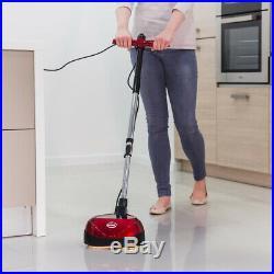 Floor Scrubber Buffer Cleaner 23 ft. Power Cord Interchangeable-Reusable Pads