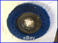 Floor buffer brush and 3M pads 4184-C 20 19 17.5 polish strip seal wax
