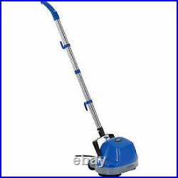 Global Industrial Mini Floor Scrubber With Floor Pads, 11 Cleaning Path PG5001