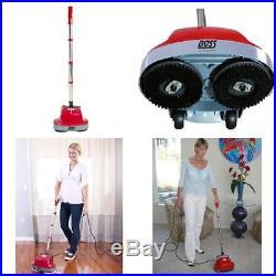 Gloss Boss Mini Floor Scrubber & Polisher Machine Cleaner & 6 Pads All Types