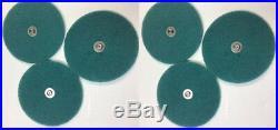 Green Scrub Pads for Electrolux Shampooer/Floor Polisher B8 B9 TriStar