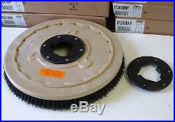 Grit brush, 17 floor buffer. Replaces black pads & 1 FREE NP9200 plate