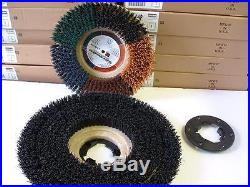 Grit brush, fits 20 floor buffer. Replaces black pads & 1 FREE NP9200 plate