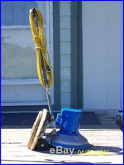 HILD LOW SPEED SCRUBBER SANDER POLISHER FLOOR BUFFER with PAD DRIVER #14