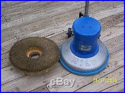 HILD LOW SPEED SCRUBBER SANDER POLISHER FLOOR BUFFER with PAD DRIVER #18