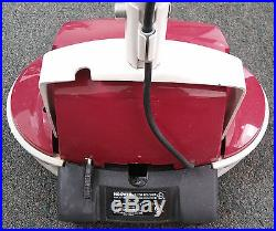 Hoover Floor Scrubber Polisher With Brush And Pad Model F2101 Excellent Used