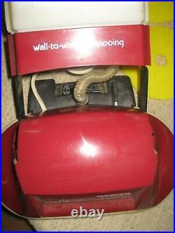 Hoover F4255 Hard Floor Carpet Scrubber Buffer Polisher Shampooer Brushes Pads +