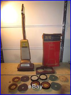 Hoover Floor Polisher Buffer Scrubber Cleaner Shampooer Waxer Brushes Pads MORE