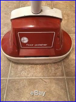 Hoover Floor Polisher Buffer Scrubber Cleaner Twin Brush