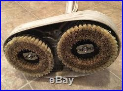Hoover Floor Polisher Buffer Scrubber Cleaner Twin Brush Pads Working F2003