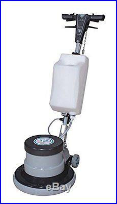 Industrial Floor Polisher Machine with(1 Tank+2 Brushes+1 Pad Holder+3 Pads)