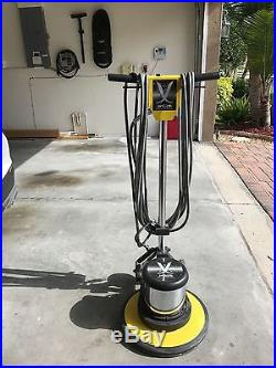Janilink Floor Machine Buffer Cleaner 17 with Pad Holder SEE PHOTOS