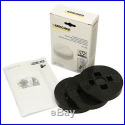 KARCHER Genuine FP222 Floor Polisher Polishing Buffing Cover Pads Set (2 Pack)