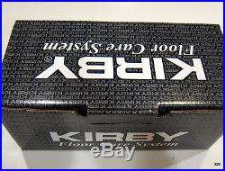 Kirby Vacuum Sentria II Floor Care Kit with Polisher & Bare Floor Pad and wax