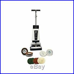 Koblenz Carpet Shampooer and Floor Polisher with Pads, White/Black