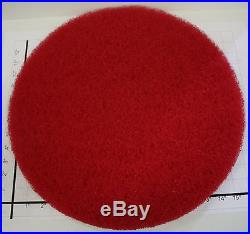 LOT OF 5 NORTON 17 FLOOR MAINTENANCE STRIPPING PAD RED BUFFERS BURNISHER