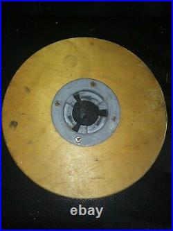 Lot of 4 Floor Sander or Buffer 16 wooden pad driver with clutch plate cushion