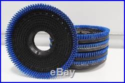 Lot of 5 Floor Buffer Polisher & Scrubber Nylon Maintenance Brush Pad Driver 17