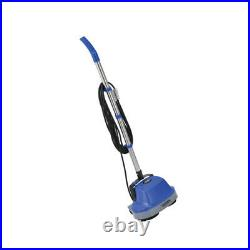 Mini Floor Scrubber Electric Polisher Cleaner With Floor Pads 11 Cleaning Path