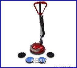 NEW Hard Floor Cleaner Polisher Buffer Tile Scrubber Waxer Hardwood Grout 6 Pads