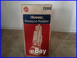 NEW Vintage Hoover F4143 Floor Shampoo Polisher Buffer Super Tank withBrushes Pads