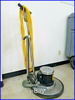 NSS Galaxy Corded Floor Machine Buffer Polisher 175RPM with Pad Driver or Brush