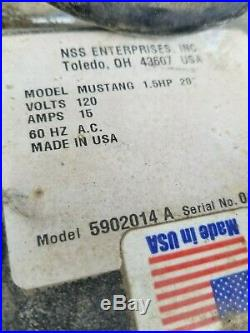 NSS Mustang 175 Corded Floor Machine Buffer NO Polisher Pad Driver or Brush