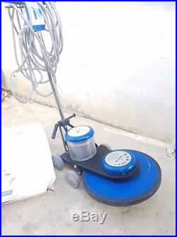 NaceCare 20 High Speed 1500 RPM Electric Floor Burnisher Buffer and Pads