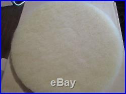 New CASE OF 5 GLIT MICROTRON White Floor Buffer Super High Polish Pad 13