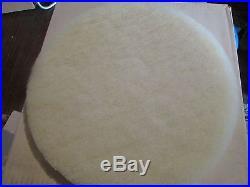 New GLIT MICROTRON White Floor Buffer Super High Polish Pad 13