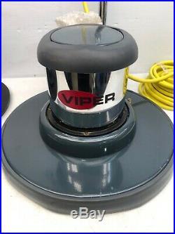 New Viper Venom 175 RPM Floor Buffer with Pad Holder & 20 Deck Model VN2015