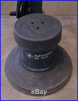 Nilfisk Advanced SD 4317 16 Floor Buffer with 50' Cord No Pad Driver