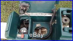 Nobles Speed Scrub 2001 Floor Scrubber Buffer Sweeper Walk Behind Pads & Manual