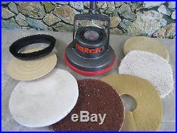 Oreck Orbiter XL Floor Polisher Buffer Carpet Shampooer W Pads & Floor Rings