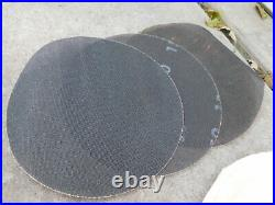 Oreck XL ORBITER Heavy Duty Floor Polisher Buffer Scrubber w Pads Brushes NICE
