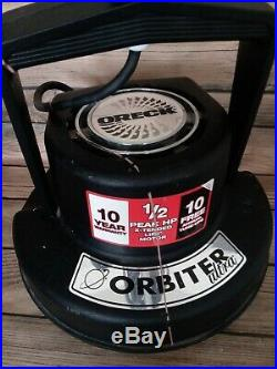 Oreck XL Orbiter Ultra Multi-Floor Cleaner Polisher/Scrubber ORB700MB-No Pads