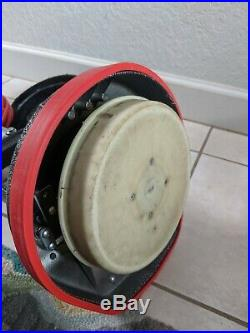 Oreck XL Professional Grade Orbiter Floor Machine Buffer PLUS PADS/BRUSHES
