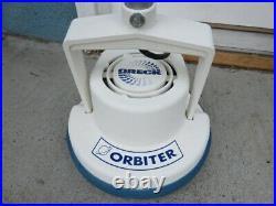 Oreck orbiter 600 orb600mw multipurpose floor machine buffer scrubber + pads