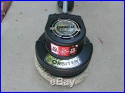 Oreck orbiter ultra floor machine polisher scrubber buffer orb700mb with pad