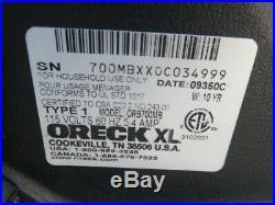 Oreck xl orbiter ultra multi floor cleaner polisher scrubber orb700mb no pads