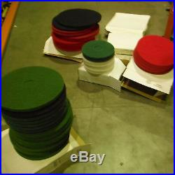 PRO-LINK Floor Buffer Scrubbing Pads 9/LOT! 20 Diameter-About 7/8/1 Thickness