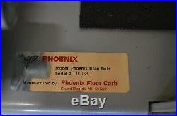 Phoenix Titan Twin 24 floor buffer and cleaner ONLY 32 Hrs! FREE PADS AND FLUID