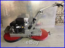 Phoenix Titan Twin Floor Buffer Burnisher 24 Dual Pad Propane with Kawasaki 17
