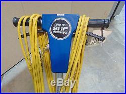 Powr Flite 20 1500 RPM High Speed Floor Buffer SHP Works Good