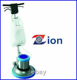 Premium Industrial 17 Floor Polisher Machine with(2 Brushes+1 Pad Holder)