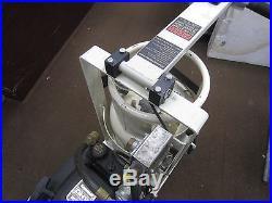 Propane powered 17 floor buffer polisher with pads