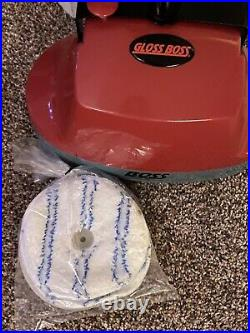 Pullman Holt Gloss Boss Mini Floor Scrubber & Buffer Tested Comes With Pads