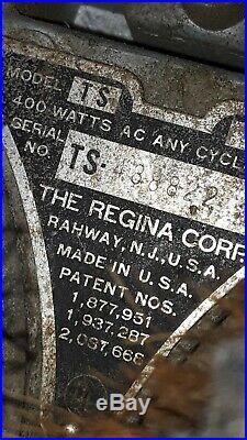 Regina Floor Buffer Scrubber Vintage model TS+2brushes+2pads(P357)p