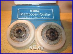 Regina Floor Polisher Buffer Scrubber Cleaner Shampooer Waxer Twin Brush Pads 3s